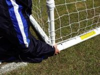 9V9 plastic Football Goal posts